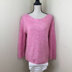 🆕 Leith Sweater Pink Sz L.